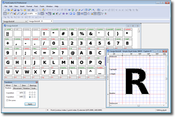 High Logic Font Creator Free Font Editor Download